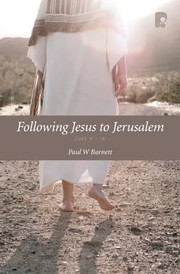 Cover of: Following Jesus To Jerusalem Luke 919