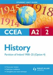 Cover of: Ccea A2 History