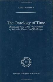Cover of: The Ontology of Time