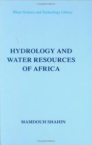 Cover of: Hydrology and water resources of Africa | Mamdouh Shahin