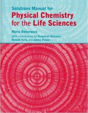 Cover of: Solutions Manual For Atkins And De Paulas Physical Chemistry For The Life Sciences