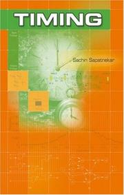 Cover of: Timing (Information Technology: Transmission, Processing & Storage) | Sachin Sapatnekar