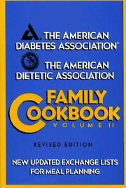 Cover of: The American Diabetes Association Family Cookbook