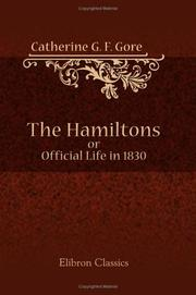 Cover of: The Hamiltons