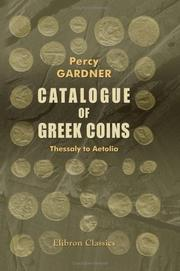 Cover of: Catalogue of Greek Coins