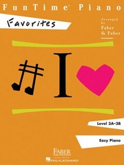 Cover of: FunTime Piano Level 3A3B Favorites