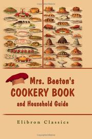 Cover of: Mrs. Beeton's Cookery Book and Household Guide