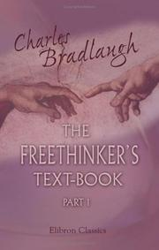 Cover of: The Freethinker