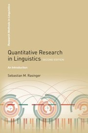 Cover of: Quantitative Research In Linguistics An Introduction