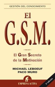 Cover of: El Gran Secreto De La Motivacin