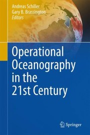 Cover of: Operational Oceanography In The 21st Century