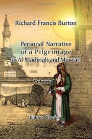 Cover of: Personal Narrative of a Pilgrimage to Al-Madinah and Meccah