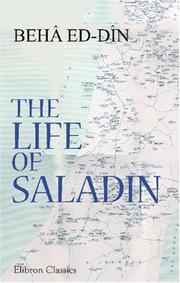 Cover of: The Life of Saladin: Saladin