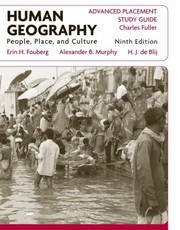 Cover of: Human Geography People Place And Culture Advanced Placement Study Guide