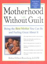 Cover of: Motherhood Without Guilt