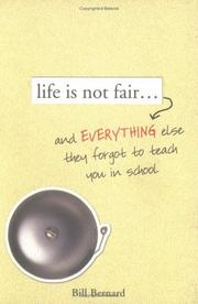 Cover of: Life is Not Fair..