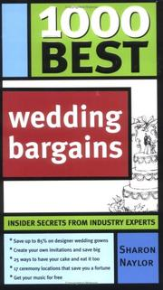 Cover of: 1000 Best Wedding Bargains (1000 Best)