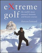 Cover of: Extreme Golf | Duncan Lennard