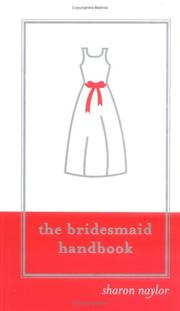 Cover of: The bridesmaid handbook
