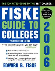 Cover of: Fiske Guide To Colleges 2006 (Fiske Guide to Colleges)