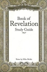 Cover of: Book Of Revelation Study Guide Nkjv