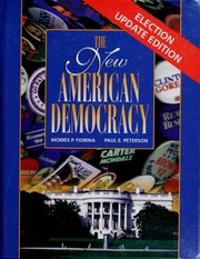 Cover of: The new American democracy