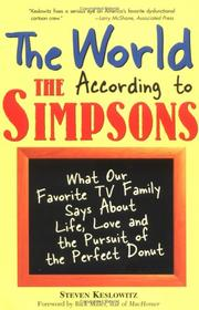 Cover of: World According to The Simpsons