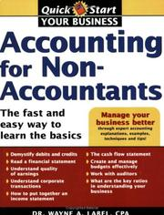 Cover of: Accounting for Non-Accountants (Quick Start Your Business)