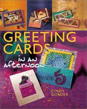 Cover of: Greeting Cards in an AfternoonT