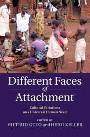 Cover of: Different Faces Of Attachment Cultural Variations On A Universal Human Need