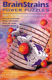 Cover of: BrainStrains Power Puzzles: 240 Mind-Blowing Challenges