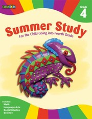 Cover of: Summer Study Grade 4