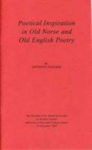 Cover of: Poetical Inspiration In Old Norse And Old English Poetry
