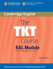 Cover of: The Tkt Course Kal Module