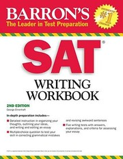 Cover of: Sat Writing Workbook