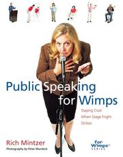 Cover of: Public speaking for wimps: staying cool when stage fright strikes