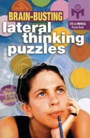 Cover of: Brain-busting lateral thinking puzzles