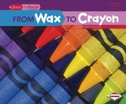 Cover of: From Wax to Crayon