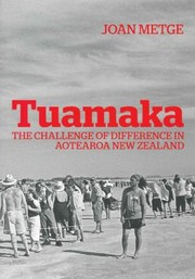 Cover of: Tuamaka The Challenge Of Difference In Aotearoa New Zealand