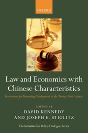 Cover of: Law And Economics With Chinese Characteristics Institutions For Promoting Development In The Twentyfirst Century