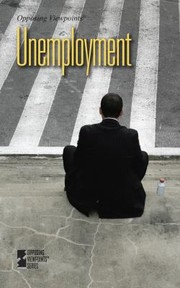 Cover of: Unemployment