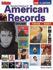 Cover of: Goldmine Standard Catalog Of American Records 19481991