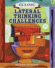 Cover of: Classic Lateral Thinking Challenges