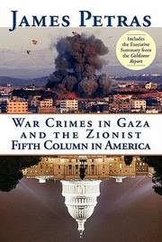 Cover of: War Crimes In Gaza And The Zionist Fifth Column In America