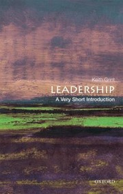 Cover of: Leadership A Very Short Introduction