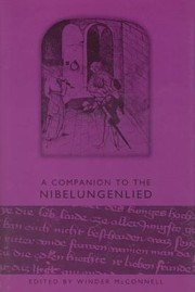 Cover of: A Companion To The Nibelungenlied