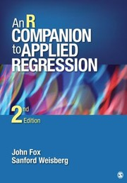Cover of: An R Companion To Applied Regression