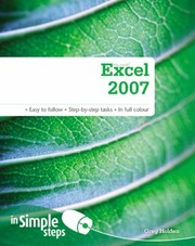 Cover of: Microsoft Excel 2007 In Simple Steps