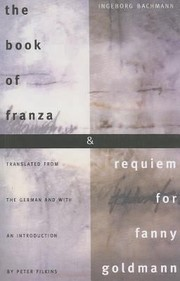 Cover of: Book Of Franza And Requiem For Fanny Goldmann