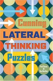 Cover of: Cunning Lateral Thinking Puzzles (Puzzle)